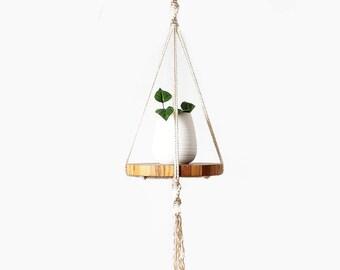 Macrame Plant Hanger, Macrame Pot Holder, Plant Holder, Hanging Planter