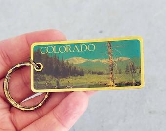 Vtg Colorado Keychain