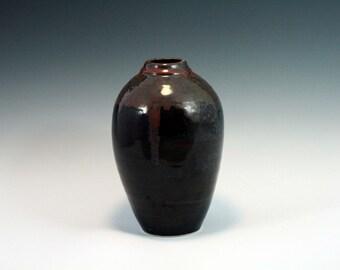 "8.5"" Stoneware Vase"