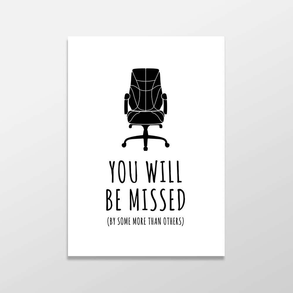 Funny goodbye card rude farewell card funny greeting card for We will miss you coloring pages