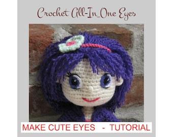Amigurumi Hair Tutorial : Kissing dolls amigurumi pattern wedding crochet gift bride