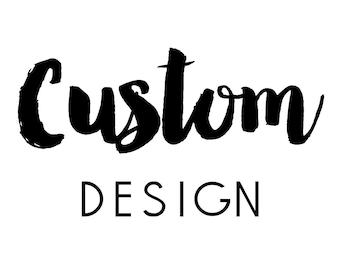 CUSTOM label design for gable box order