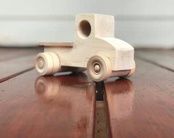 Beep Beep - Wood Toy Work Truck Hard Rock Maple