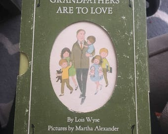 Grandmother's and Grandfathers are to Love boxed set.