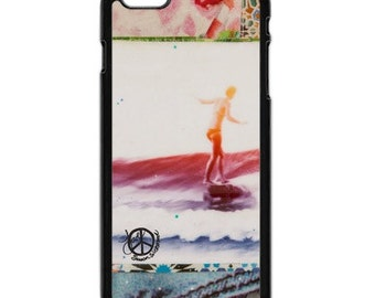 iPhone 6s/6, iPhone 6s/6 Plus Cases, BELINDA SLIDE, iPhone6s, iPhone 6s Plus, Surfing, Ocean, Best Seller, Avail. with Black or White Sides