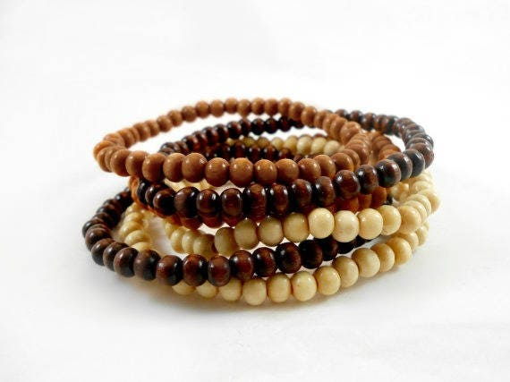 andrea bracelets wood howlite barnett and bone shop bracelet