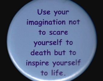 Image result for use your imagination not to scare