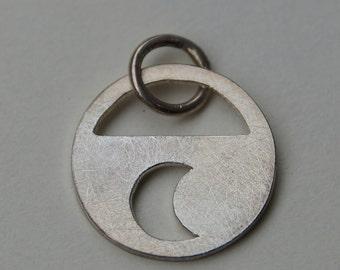 Silver Pendant Moon