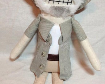 Dale - Inspired by TWD - Creepy n Cute Zombie Doll (P)