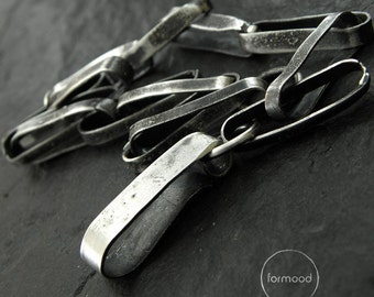Chain - 100% raw sterling silver