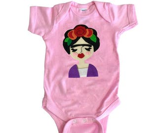 Frida Infant Bodysuit - Light Pink