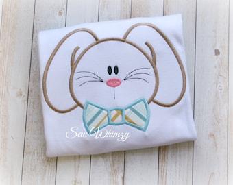 Boy Bunny shirt, Easter bunny shirt- Easter shirt
