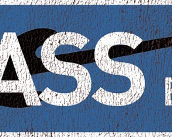 Bass Blvd Metal Sign, Music, Musician, Guitar    TFD2003
