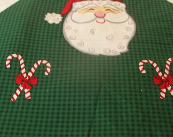 Santa Apron Fabric Panel