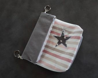 Fancy customize canvas shoulder bag