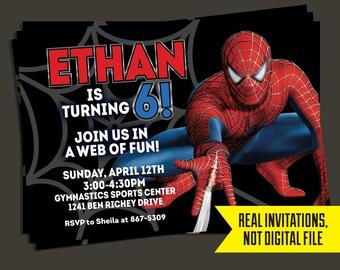 SPIDERMAN INVITATION Spiderman Birthday Invitation Free