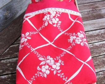 Red and white bedding Dolls bedding Cotton bedding Dolls bedding Doll furniture Girls birthday gift Doll pillow sheet Doll accessories, Doll