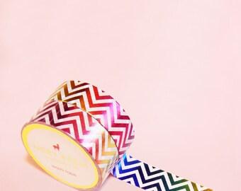 CHEVRON GRADIENT Washi Tape | Masking Tape | Korean Washi Tape | Stripes Tape | Deco Tape | Scrapbooking | Japanese Tape | Paper Tape | DIY