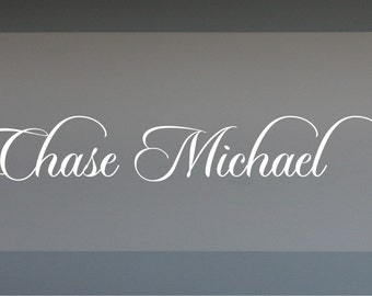 Chase Monogram - Vinyl Wall Decal