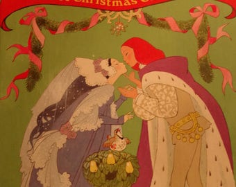 1992 The Twelve Days of Christmas, A Christmas Carol, a Little Golden Book - Book 1-R