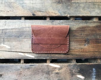 Leather Wallet, Handmade Wallet, Card Holder, Mens Wallet, Womens Wallet, Everyday Carry