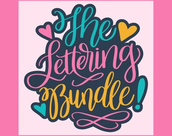 CLEARANCE Sale: The Lettering Bundle