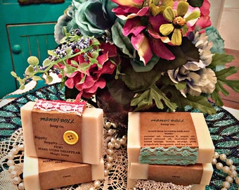 Citrus Goats Milk and Honey Soap