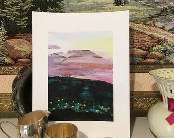"Art Print • ""In the Mist"""