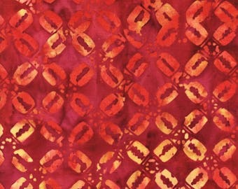 Anthology Batik 9570 Fired Abstract X Pattern By The Yard
