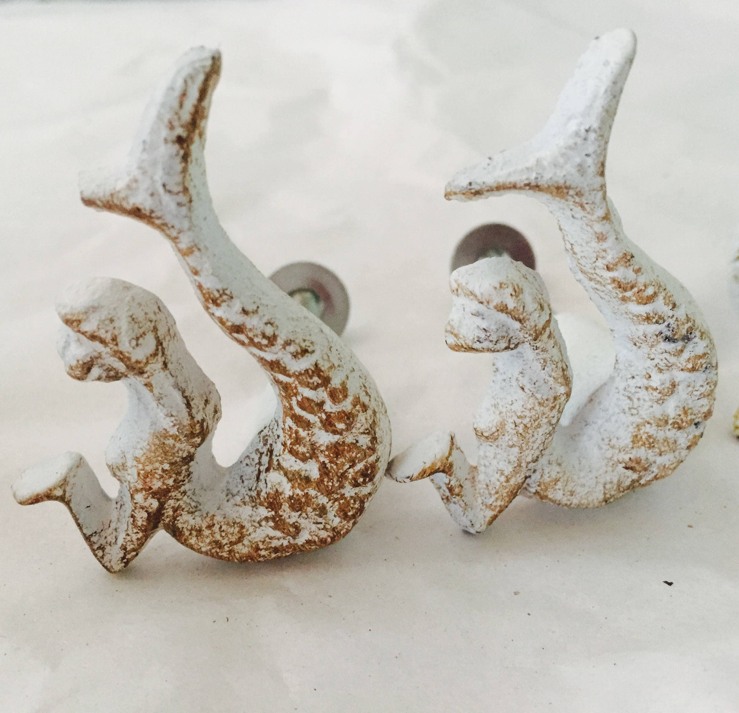Nautical Drawer Knobs / Nautical Door Knobs / Seashell Knob ...