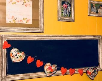 Floral Heart Banner