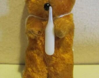 """Vintage German Berliner teddy bear, miniature, 2,16 """""""