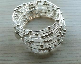 Christian morse code bracelet
