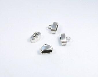 AP102 - Set of 4 silver metal caps