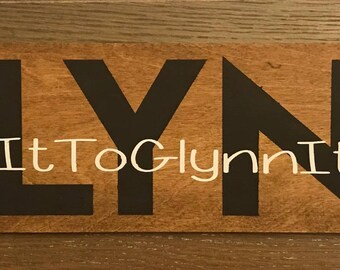 Custom Name, Wedding Hashtag, & est. date  5x20 wood sign