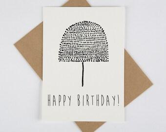 Waterpaint Print Greeting Card