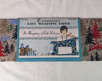 Dennison Gift Wrapping Paper