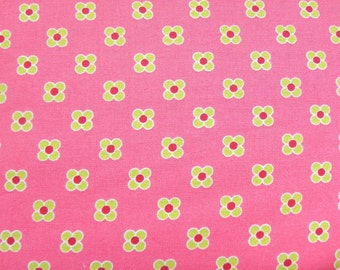 Lush by Patty Young for Michael Miller Happy Dot Pink 1 Yard Cut