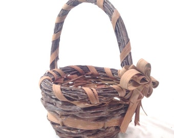Easter etsy gorgeous romantic cottage chic basket easter mothers day gift basket victorian style basket negle Choice Image