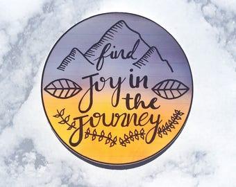 Find Joy in the Journey Individual Sticker