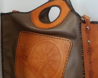 Gorgeous Spinning wheel tote