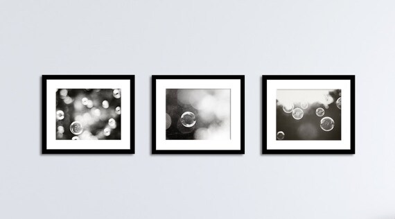 Etonnant Black And White Bathroom Set Abstract Laundry Room Wall Art