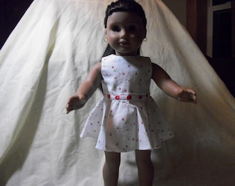 """Handmade 18"""" Doll Casual Dress/Top -18"""" Doll Clothes - 18"""" Doll Dress"""