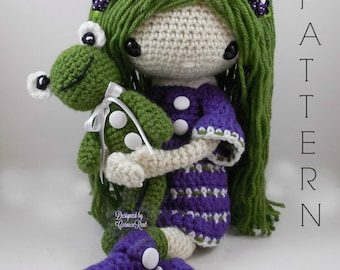 November - Amigurumi Doll Crochet Pattern