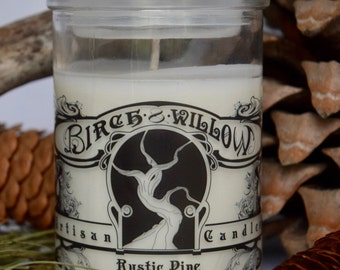 Rustic Pine Soy Candle