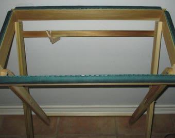 Rug Hooking Floor Frame