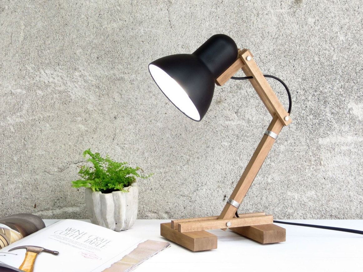 Reading lamp table lamp bedside lamp industrial lighting zoom aloadofball Images