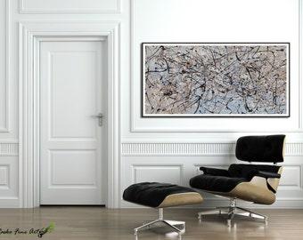 Seascape painting Resin art prints large wall art Seascape art