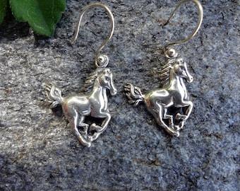Horse Sterling Earrings