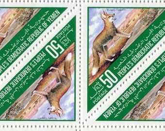Desert Fox Stamps/50 Unused Stamps/ Stamps From Yemen